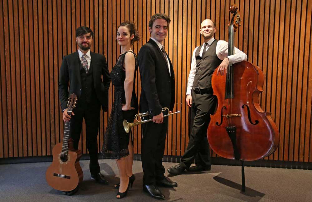 Die Jazz Band können Sie als Duo, Trio oder Jazz Trio mit Sängerin buchen