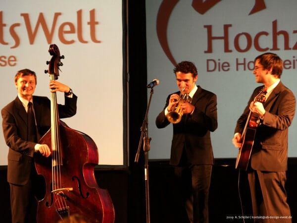 Die Geburtstagsfeier Jazzband am Tanzabend